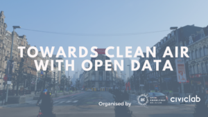 Open data day : Towards clean air with Open Data